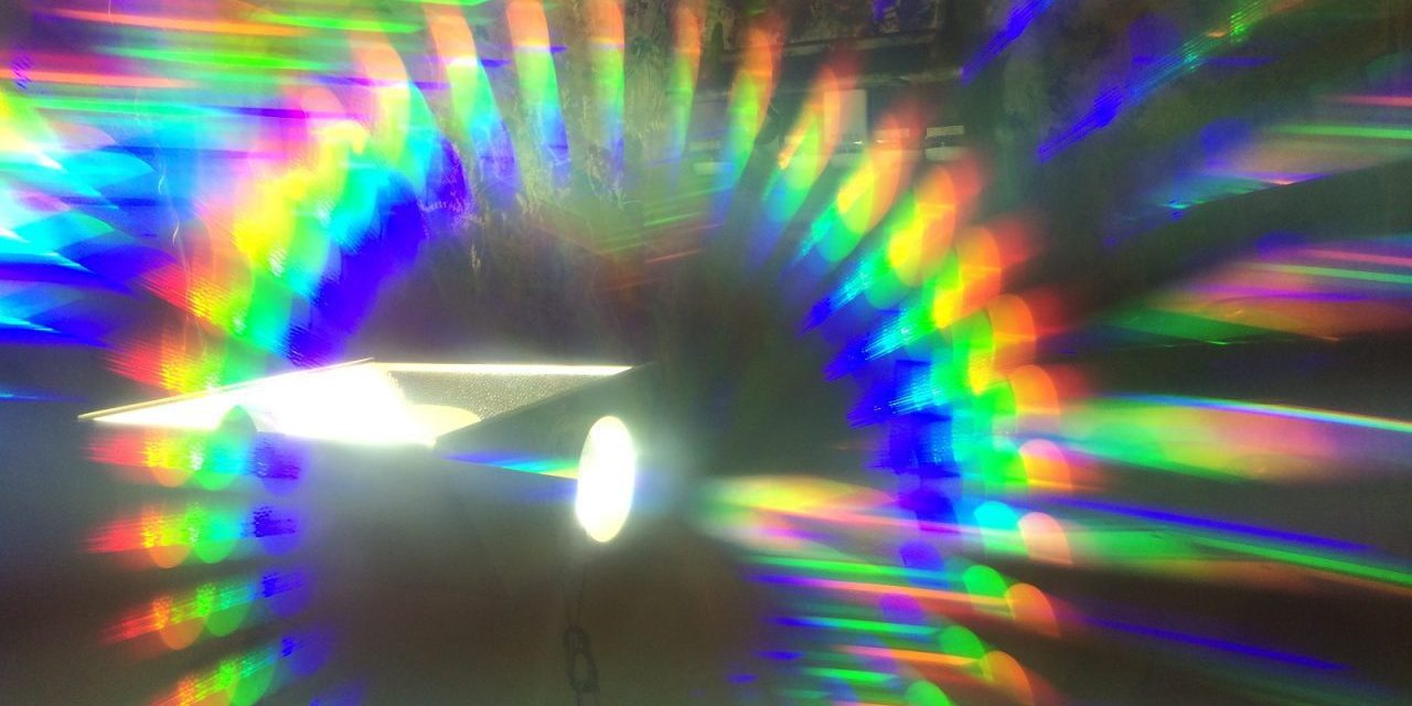 Indoor Light and a Homemade Spectroscope