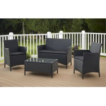 4-piece patio furniture set