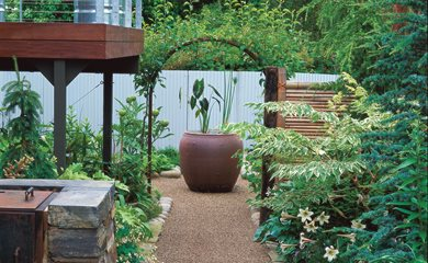 landscaping tiny garden