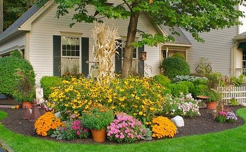 fall gardening ideas garden design