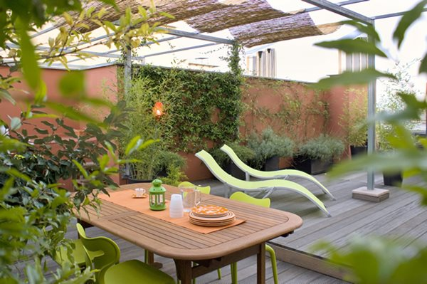 Italy Green Terrace Roof Garden Gallery Garden Design