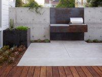 A Custom Built-In Barbecue   Garden Design