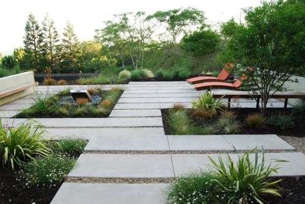 designing contemporary garden