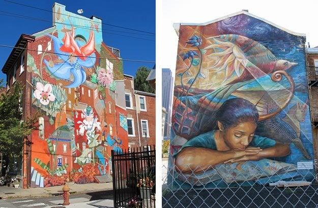 Philadelphia NatureInspired Outdoor Murals  Garden Design