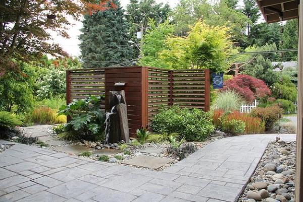 zen- garden with nature