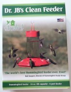 Dr. JB's Clean Hummingbird Feeder
