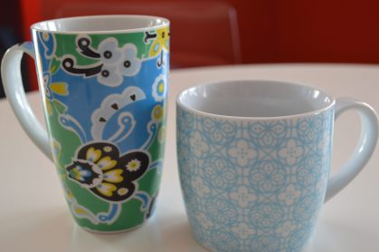 Chipped teacups