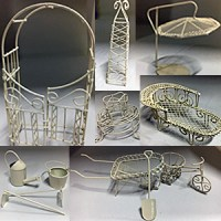 MINI GARDEN FURNITURE COLLECTION OFF WHITE
