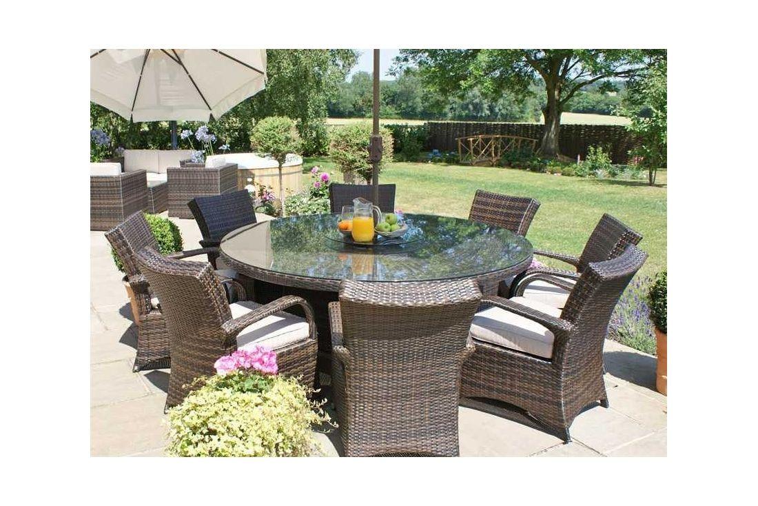 Garden Furniture 8 Seater