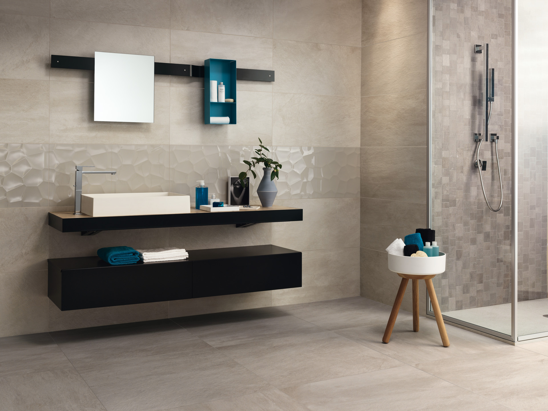 Ceramiche Gardenia Orchidea ceramic tiles floor and wall coverings in porcelain stoneware