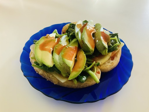 Avocado and Spinach Toast