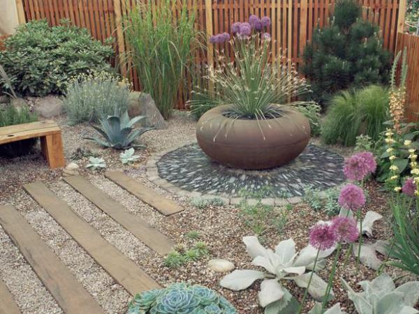 rock gardens in dry areas gardening