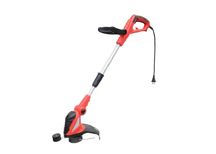 Red Electric Hand Held Grass Cutter Portable 550w Grass