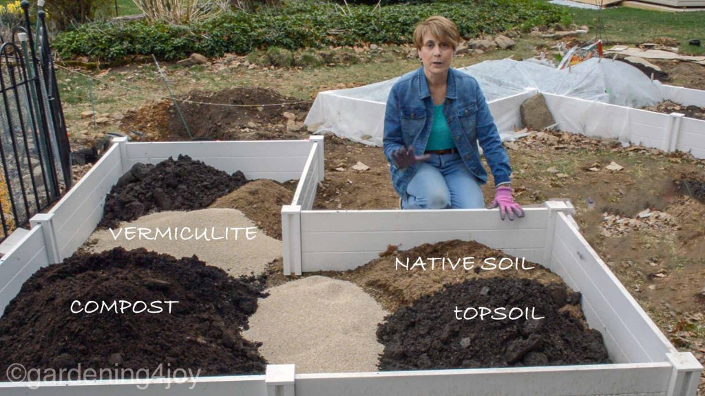 Ground Garden Beds, How To Prepare A Raised Garden Bed