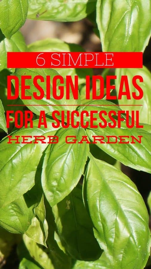 6 herb garden design ideas