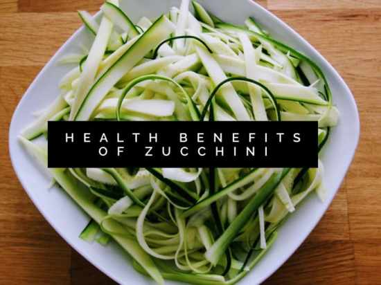 Zucchini Health Benefits