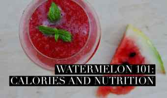 Watermelon Nutrition Facts and Calories