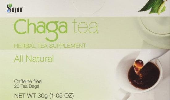 Chaga Mushroom Tea Antioxidant