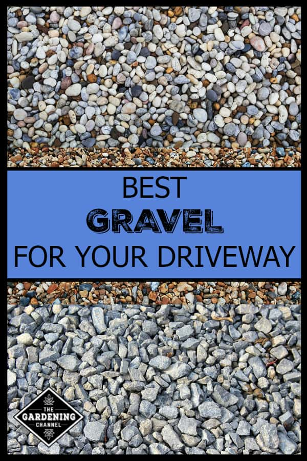 Gravel Sizes Chart : Best types of gravel for driveways gardening channel