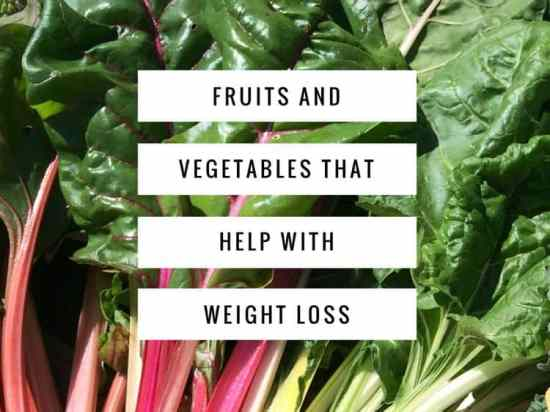 Eat These Fruits and Vegetables to Lose Weight