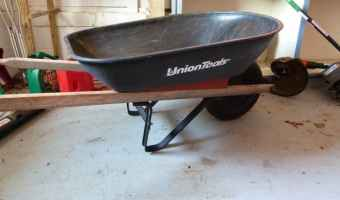 union tools 4 cubic foot wheelbarrow