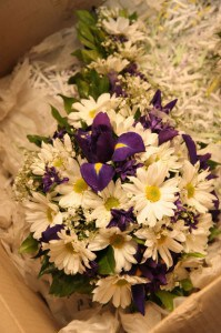 April Wedding Flowers