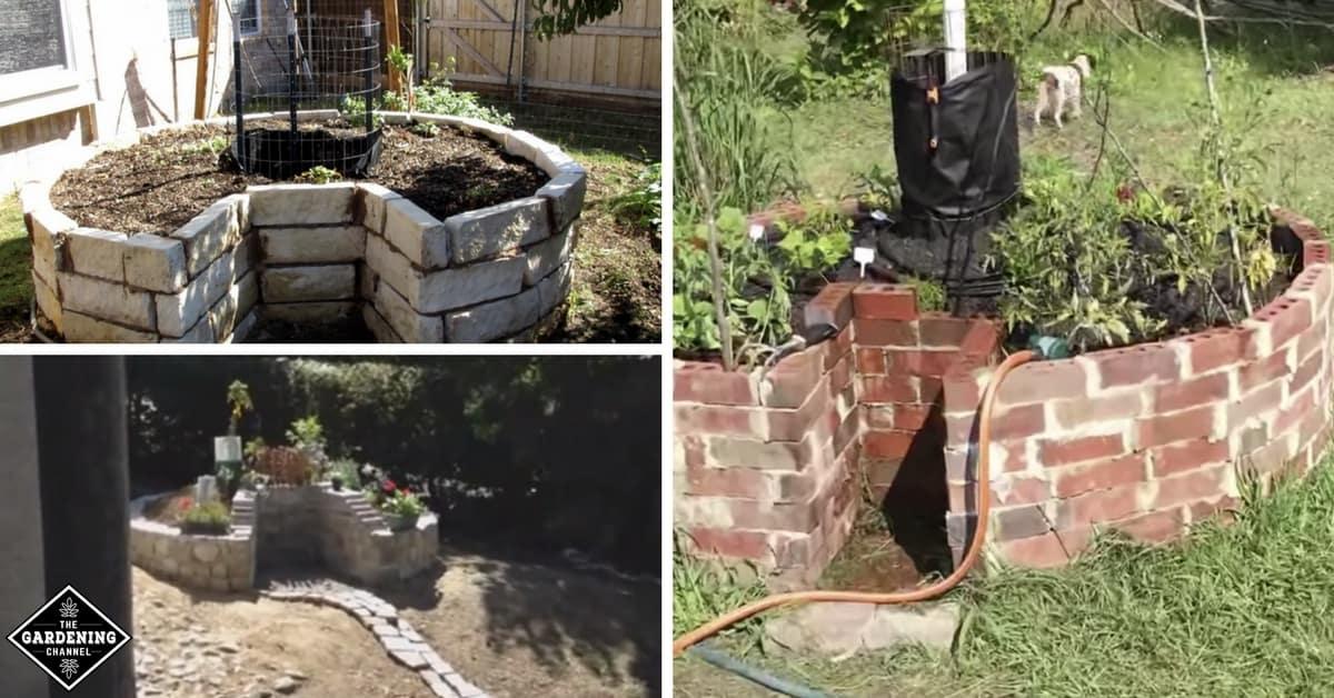 How To Make A Keyhole Garden, Keyhole Garden Design