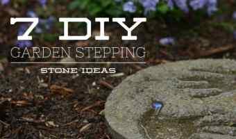 7 Cool DIY Garden Stepping Stone Ideas
