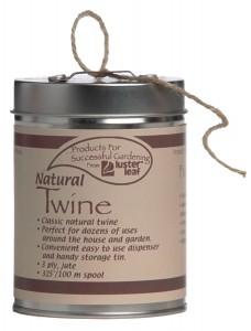 Natural Twine Dispenser Can Gift For Gardners
