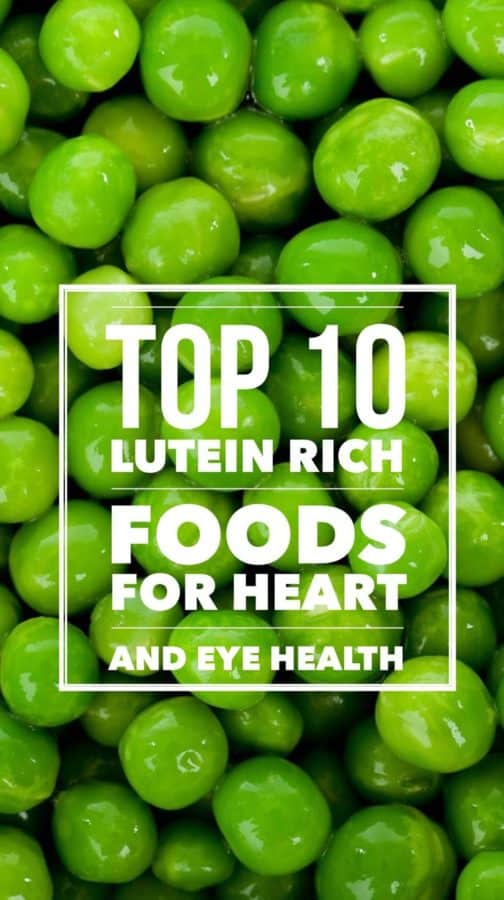 Lutein is an important carotenoid that is good for your vision and your heart. Check out this list of lutein rich vegetables and foods.