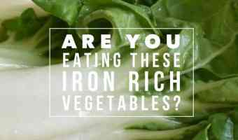 9 Great Vegetable and other Plant Based Sources of Iron
