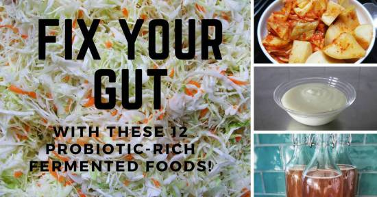 12 probiotic rich fermented foods