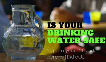 Is your drinking water safe? Check here to find out.
