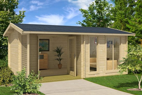 the sommersby garden house kit would be perfect for a back yard its made of lovely nordic spruce wood and has an adorable area that opens wide to let in - Garden House