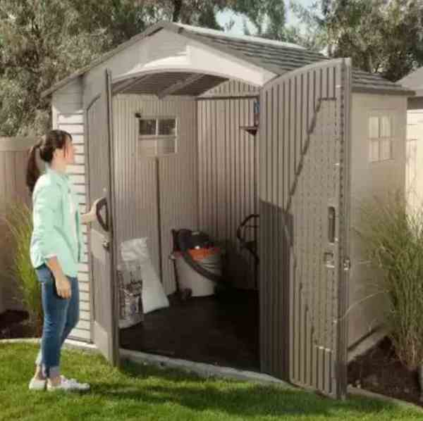 lifetime 7 x 7 outdoor shed