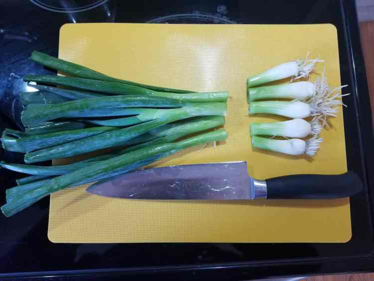 scallion roots can regrow more