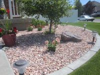 Landscaping with small Rocks - Gardening flowers 101 ...