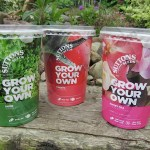 Suttons new Grow Your Own seed pots