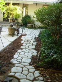 quikrete concrete mold walkway quikrete walkway patio ...