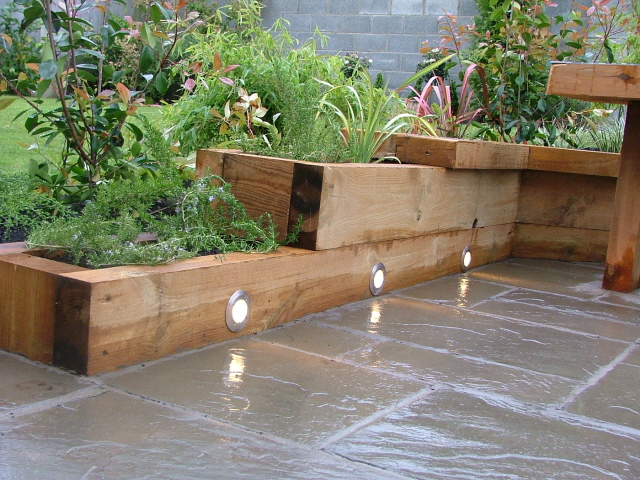 Raised Garden Corner Joints