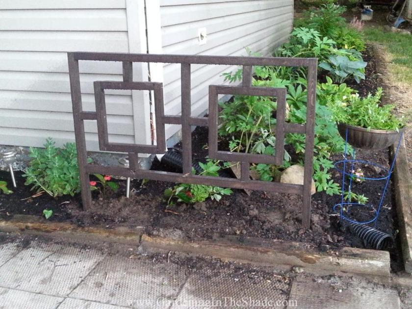 Fretwork Garden Fence