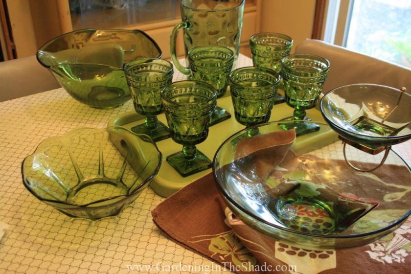 Vintage glassware (2)