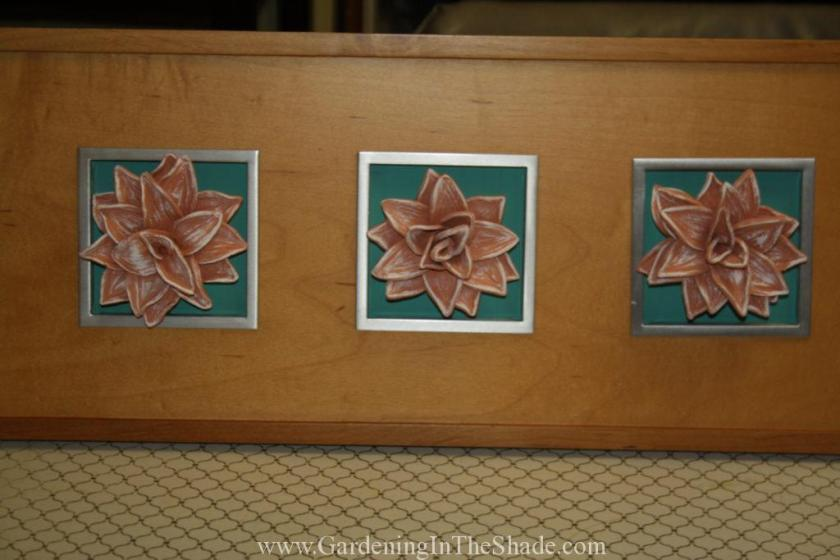 one of a kind diy wall art gardening in the shade