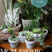 Atomic Style Planters for Fellow MCM Geeks