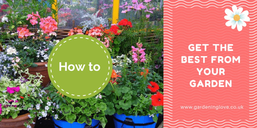 General gardening tips. How to get the best from your garden