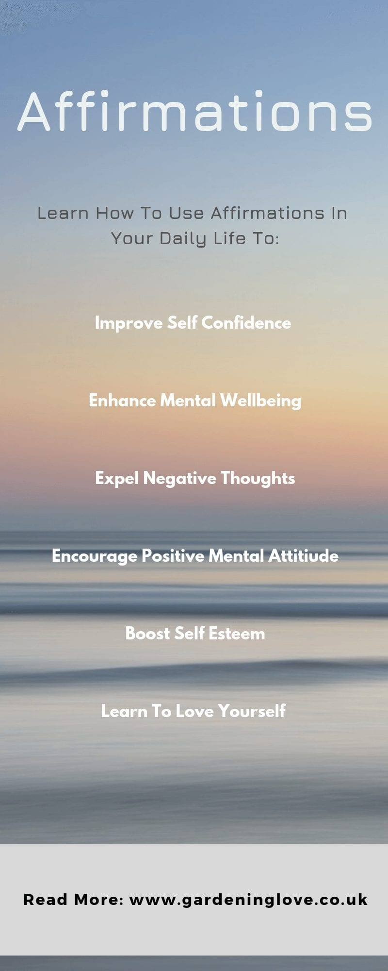 how to use daily affirmations to increase confidence and self esteem