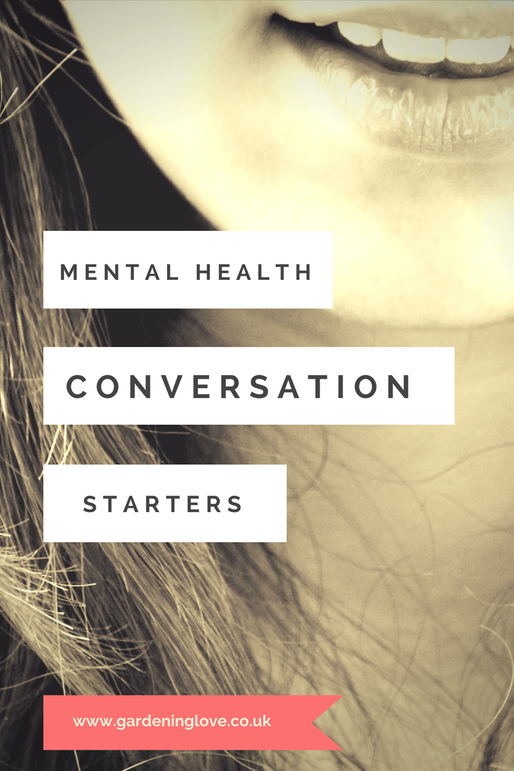 How to help someone who you feel may be suffering from mental health problems. Here are ways to broach the subject with mental health conversation starters. #howtohelp #mentalhealthawareness #mentalhealthadvice