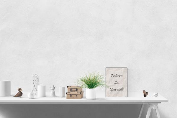 Believe In Yourself Digital Art Print
