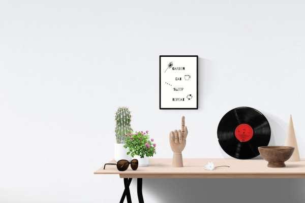 Garden, Eat, Sleep, Repeat Digital Download
