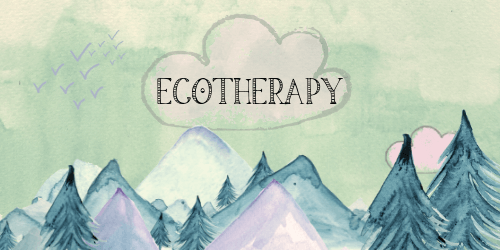 Ecotherapy sidebar button. Gardening Love sidebar #ecotherapy #eco-therapy #nature #health #naturalhealth